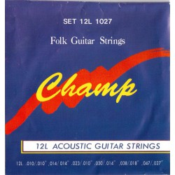 Champ Twelve Guitar Stirings
