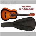 Colombo Guitar Classic Sunburst + Чехол!