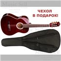 N.Amati Guitar Classic Red + Чехол!