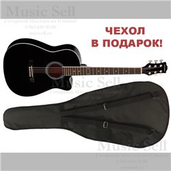 Colombo Folk Cutaway Black + Чехол!