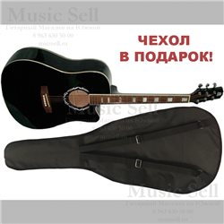 Madeira Dreadnought Spruce Black + Чехол!