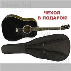 N.Amati Dreadnought Black + Чехол!