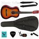 Prado Small Guitar Classic SET Sunburst - Полный Комплект!
