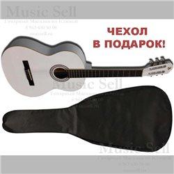 Alicante Small Guitar Classic White + Чехол!
