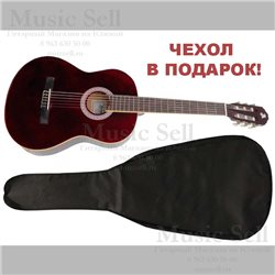 Alicante Small Guitar Classic Red + Чехол!