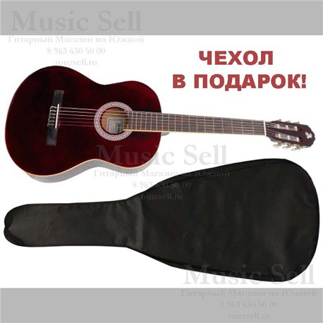 Alicante Small Guitar Classic Red + Чехол!