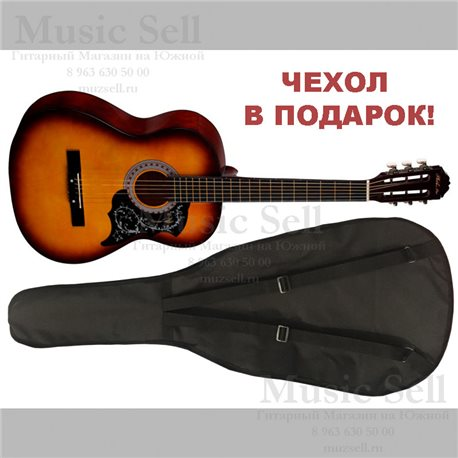 Phil Pro Folk Wide Neck Sunburst + Чехол!