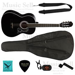 Phil Pro Folk Wide Neck SET Black - Полный Комплект!