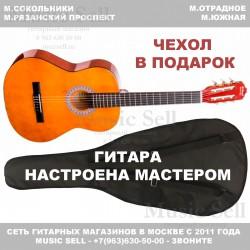N.Amati Guitar Classic Natural + Чехол!