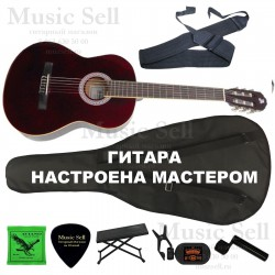 Alicante Guitar Classic SET Red - Полный Комплект!