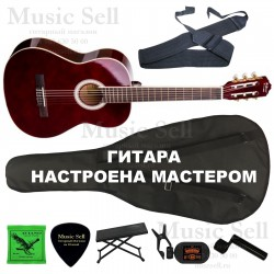 N.Amati Guitar Classic SET Red - Полный Комплект!