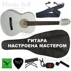 N.Amati Guitar Classic SET White - Полный Комплект!