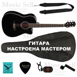 Colombo Folk Cutaway SET Black - Полный Комплект!