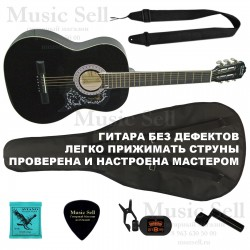 N.Amati Folk Wide Neck SET Black - Полный Комплект!