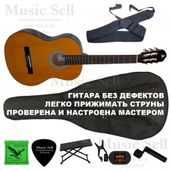 Alicante Guitar Classic SET Natural - Полный Комплект!