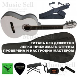 Alicante Guitar Classic SET White - Полный Комплект!