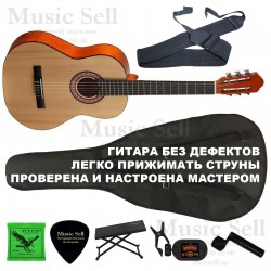 Colombo Guitar Classic SET Natural - Полный Комплект!