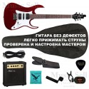 Zombie Superstrat H-S-H SET Red+ Чехол!