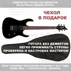 Zombie Superstrat H-H Black + Чехол!