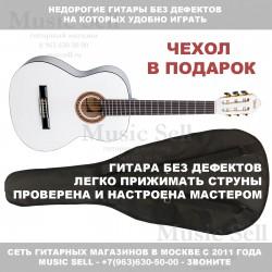 Valencia Guitar Classic Linden White + Чехол!
