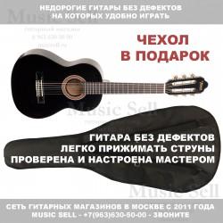 Valencia Guitar Classic Linden Black + Чехол!