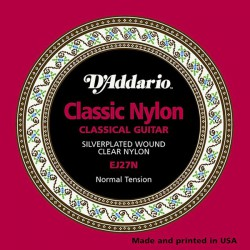 D'Addario Classic Guitar Stirings